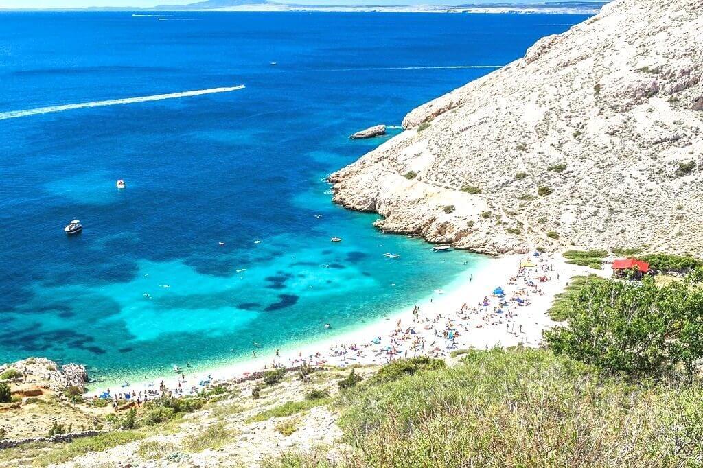 top 5 beaches krk